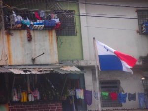 The ghettos just at the edge of the most touristy area of Panama City.