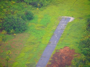 Tiny airstrip