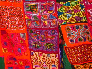 Molas made by the local women