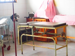 Maternity ward at the Kuna hospital