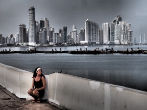 View of Panama City from Casco Viejo