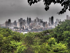 View of Panama City from the Park